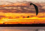 Paramotor  Sunset   24