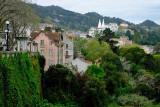 Sintra, View from Correnteza Garden