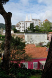 Sintra National Palace from Volta Duche