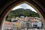 Sintra center from the Palace