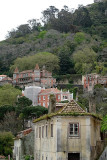 Sintra, view from the Palace