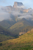 Drakensberg Mountains, view from Thendele Upper Camp