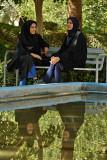 Esfahan, garden near Ali Qapu Palace