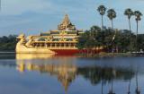 Yangon, Kandawgyi Lake