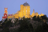 Pena Palace from Chalet of Condessa D' Edla garden