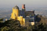Pena Palace from Cruz Alta