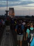 The Bridge; van zuid naar noord.