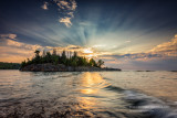 Sunrise at Ellingsen Island 1