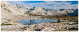 Pretty alpine lake