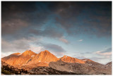 Pretty mountain light