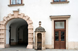 The Hofburg - Guard Post At Inner Castle Court