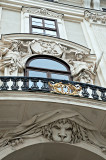 Lion And Atlantes Of Hofburg