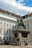 Statue Of Joseph II In Josephsplatz
