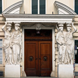 Caryatids Guarding The Door