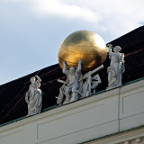 Atlant With Golden Globe