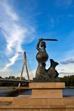 Mermaid At Vistula River