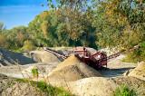 Sand Mining Plant