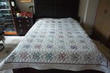 Ohio star bed cover