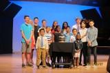 at the piano recital