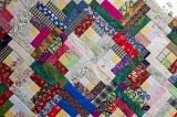 Logcabin pattern (patchwork)