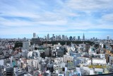 View from a hotel in Shibuya