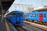 Local trains in Nagasaki sta @f8 D700