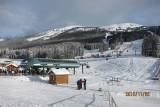 Sunshine ski resort in AB