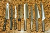 Kitchen knives @f8 D700
