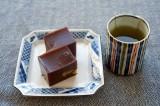 Mizu-yokan & tea @f8 D700