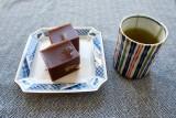 Mizu-yokan & tea @f13 D800E