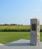 Battle of Island Mound Marker