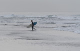 Surfer on a Gray Day