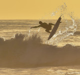 Golden Hour Surfing