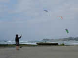 The Little Boy and the Kite Surfers