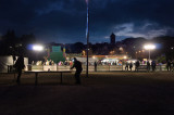 Parque con pocas luces