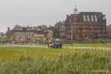 The Old Course, angeblich der älteste noch existierende Golfplatz der Erde