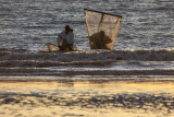 Plage d'Ault pêcheur