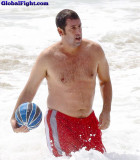 beach dad hairychest swimming.jpg