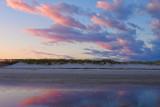 Beach Dune At Sunset