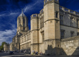 Christ Church College fro St Aldates Street