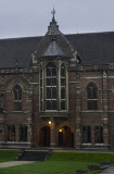 Entrance to the Keble dining hall