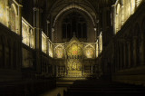 Keble College Chapel at night