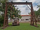 Heavy duty GMC truck and hoist, La Grange, TX