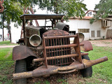 Heavy duty GMC truck, La Grange, Texas