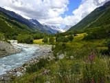 The Lötschental Valley, Valais, Switzerland