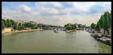 Panorámica del Pont Neuf desde el Pont des Arts