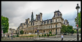 Hôtel de Ville y algunas plazas (Paris)
