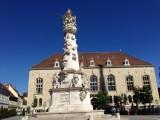 Holy Trinity Column, Fisherman's Bastion (Budapest, Hungary)