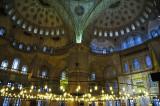 In Suleiman Blue Mosque