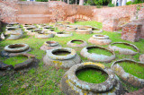 Ancient Roman Corn Storage in Ostia